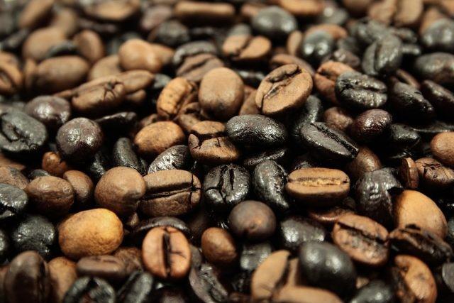 defeitos de torra de café