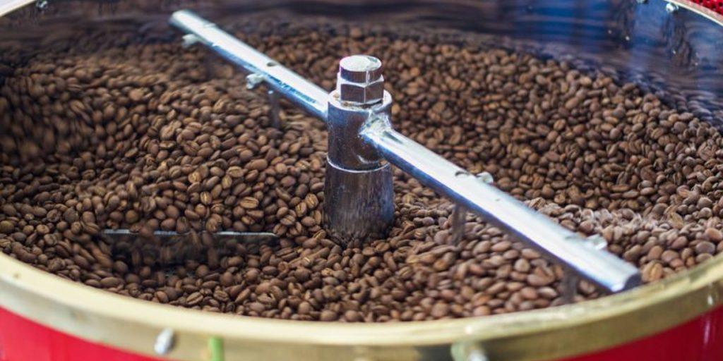 a torra do café: mudanças físicas