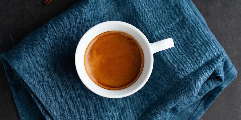 degustação café espresso