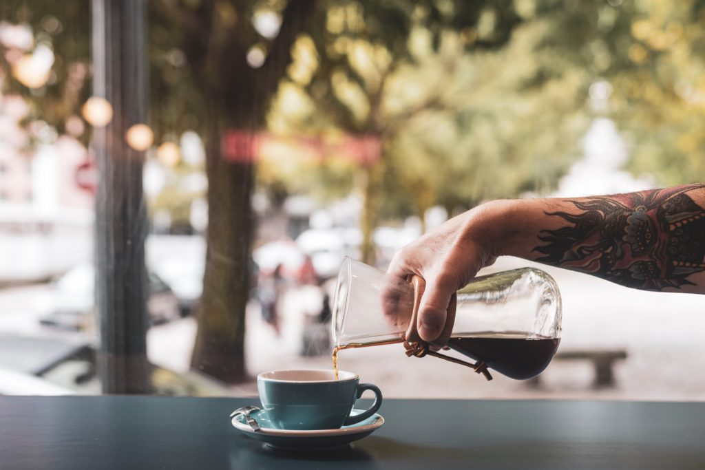 clientes café