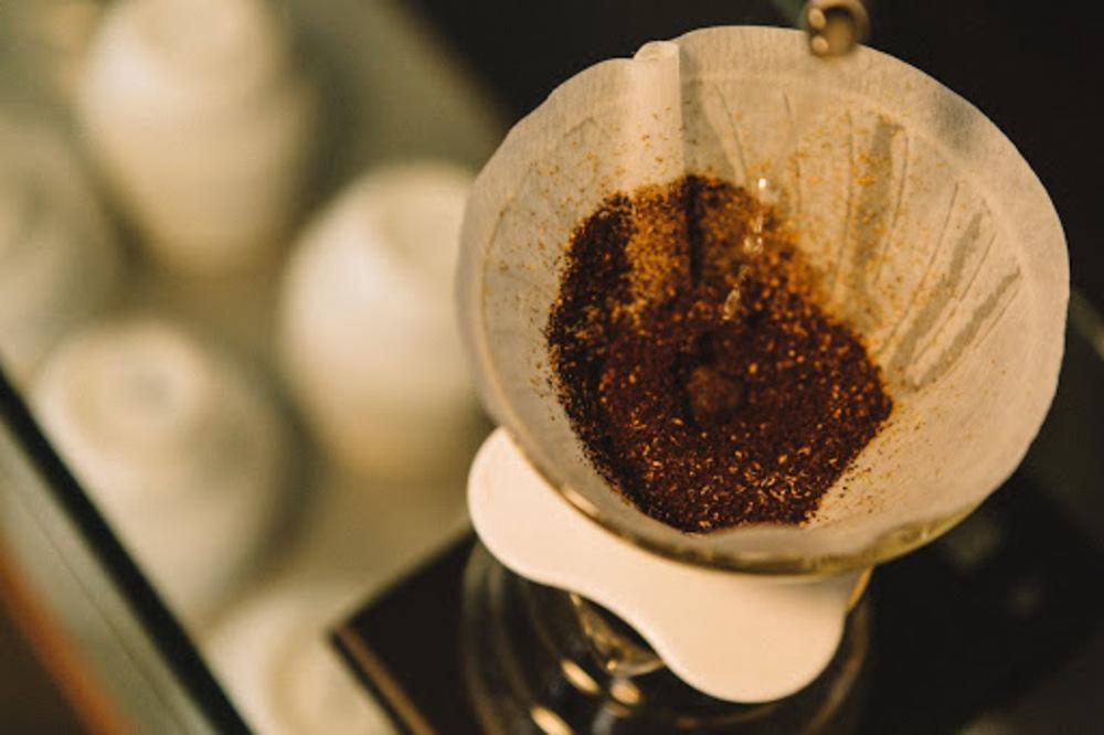 adição de sal no café