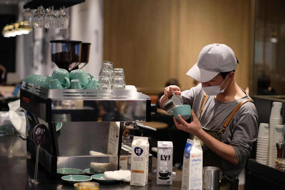 café na China