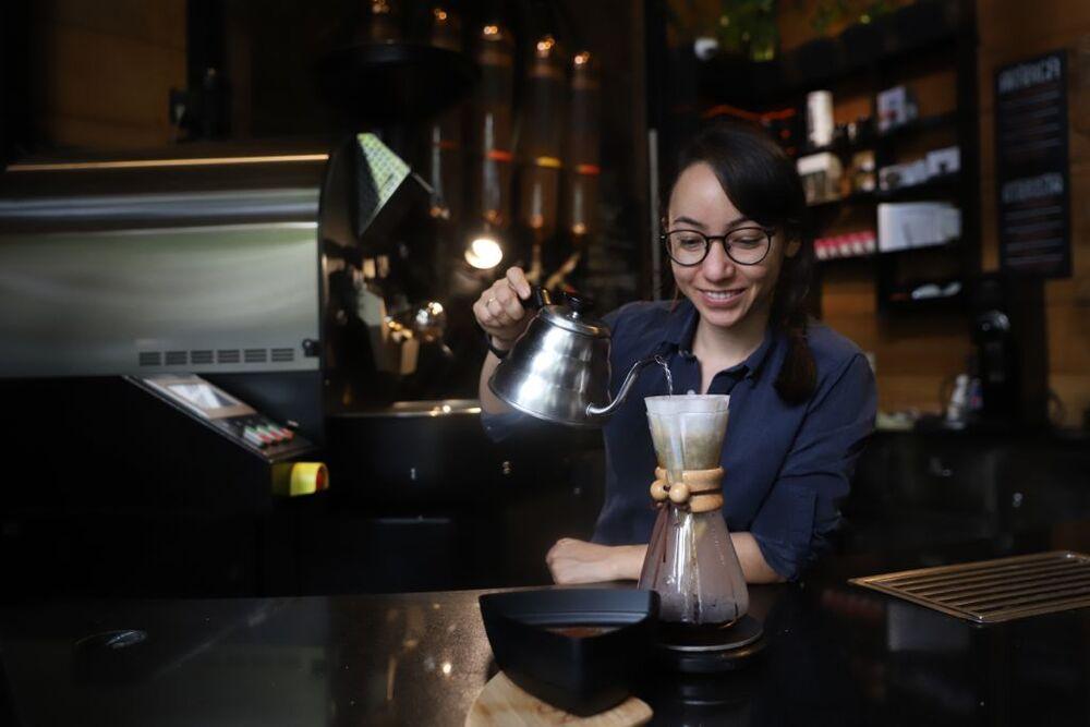 Keiko Sato barista