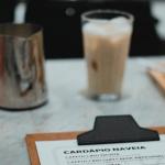 cardápio de cafeteria