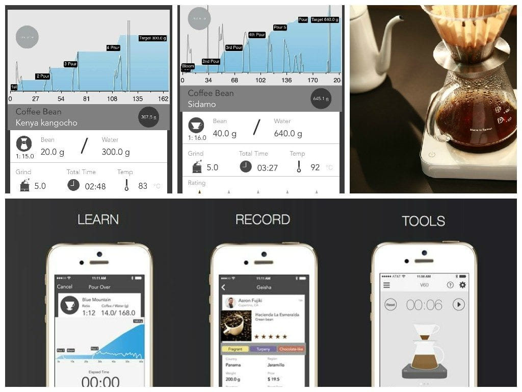 acaia coffee app