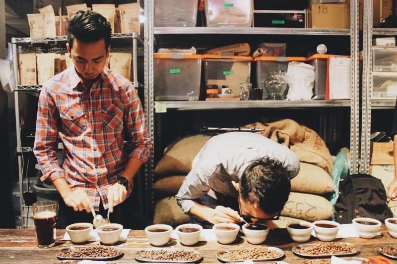 Cupping at Dutch Colony Co