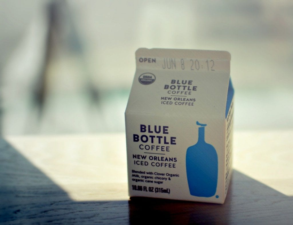 bluebottle iced coffee with chicory