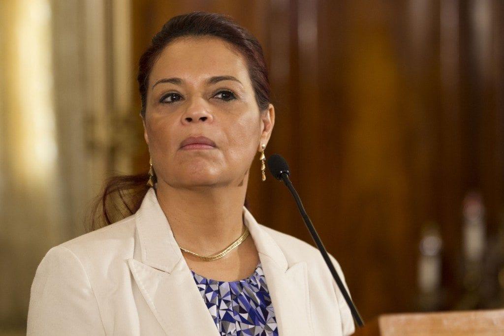 Guatemala's Vice President Roxana Baldetti