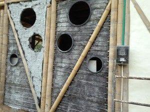 Bammboo doors