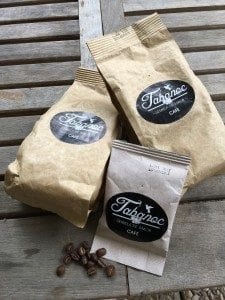 Bags of coffee