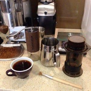 coffee geek setup