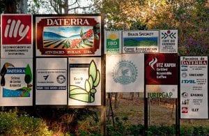 Daterraa coffee farm sign