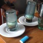smoked rosemary macchiato