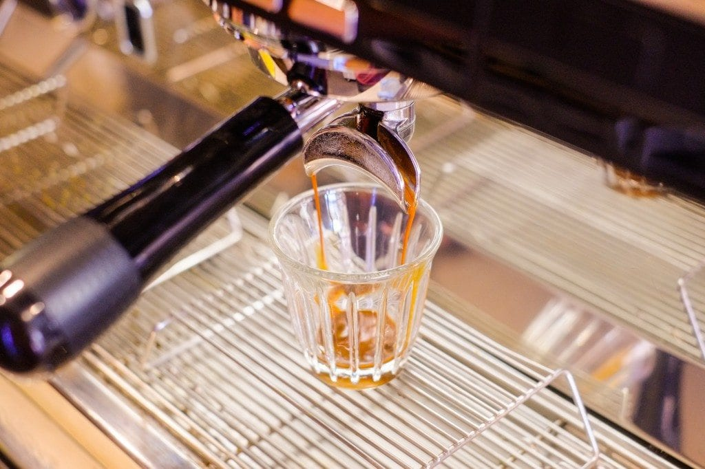 Double Ristretto Coffee Extraction