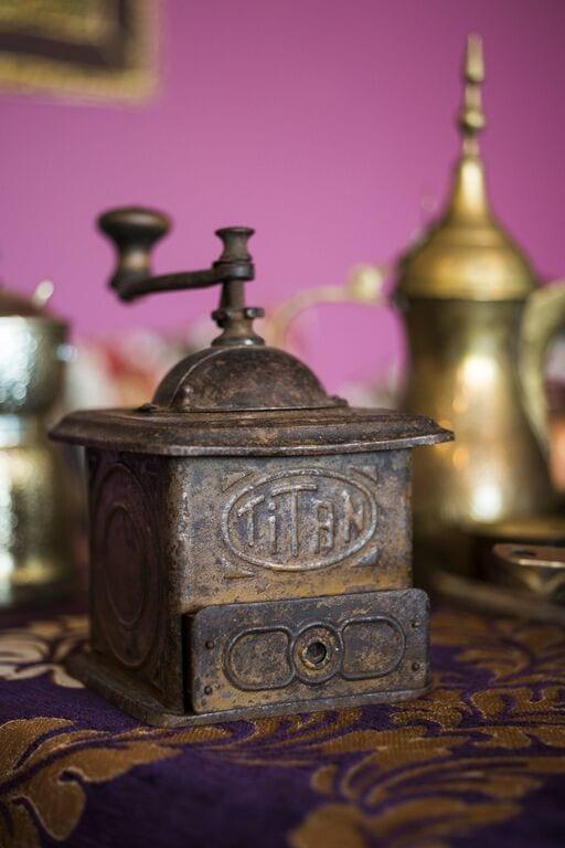 Antique hand grinder