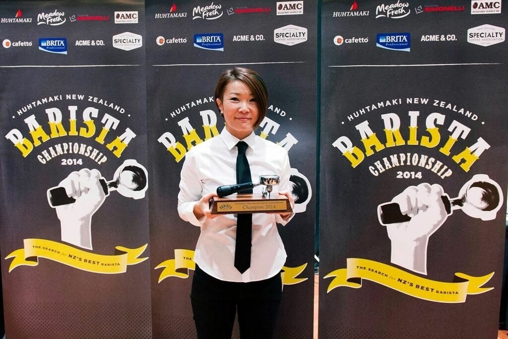 Hanna Teramoto New Zealand Barista Champion