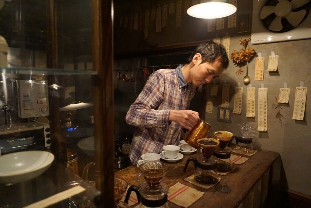 Elephant Factory Coffee in Kyoto