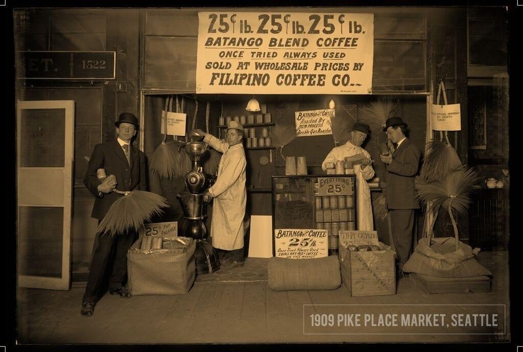 1909 Pike Place Marker, Seattle