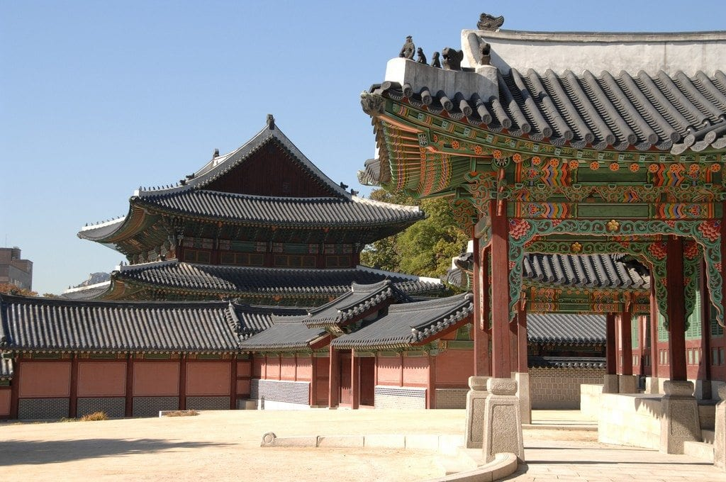 Changdeokgun Palace US Army photo by Edward N. Johnson