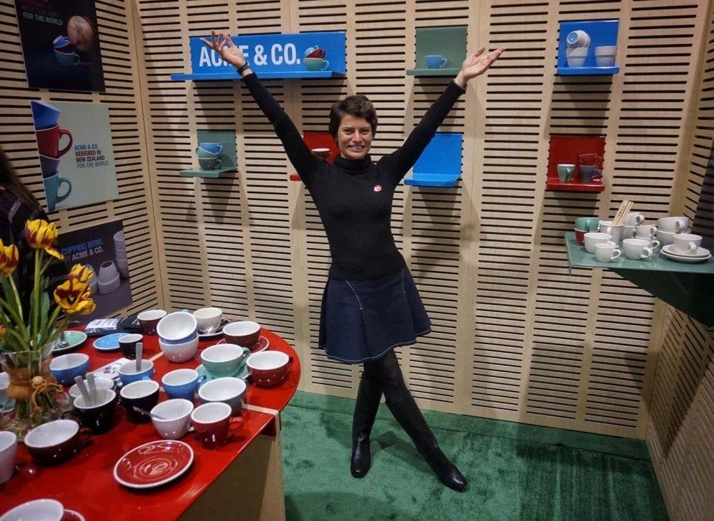Jessica Godfrey showcasing Acme & Co.