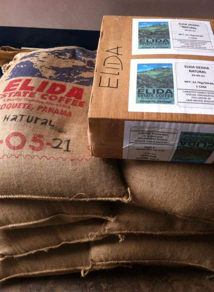 Geisha from Elida Estate