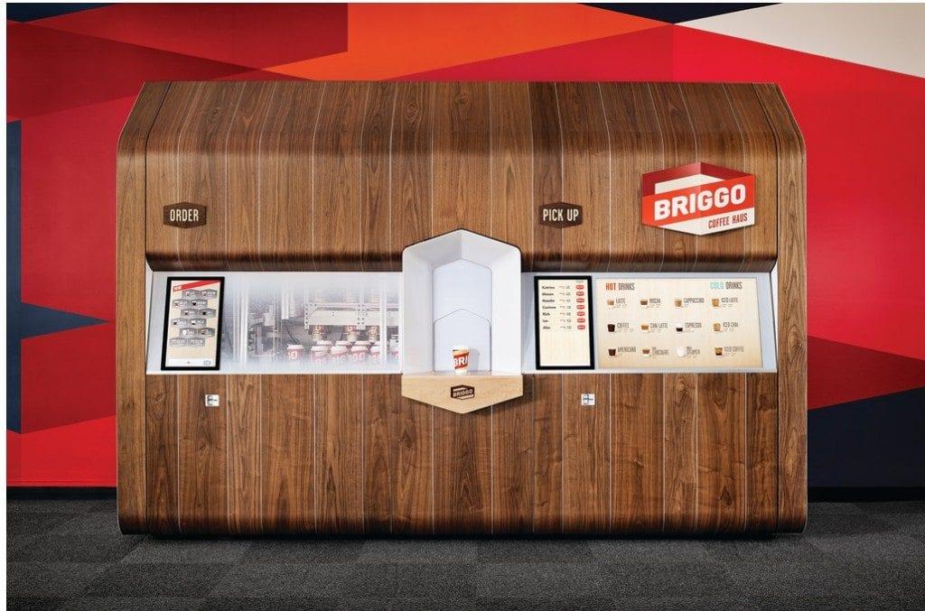 Briggo coffee kiosk