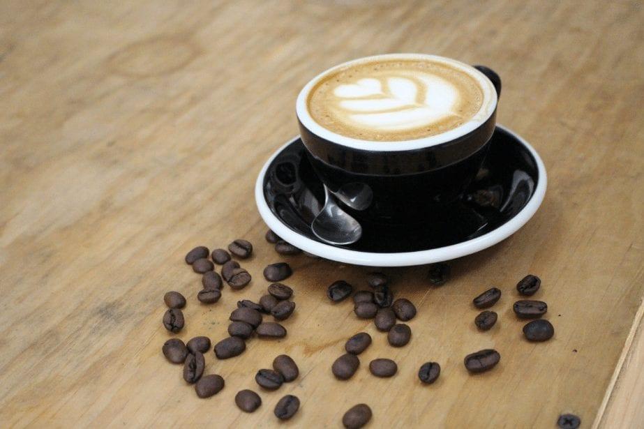 cappuccino at 4 monkeys