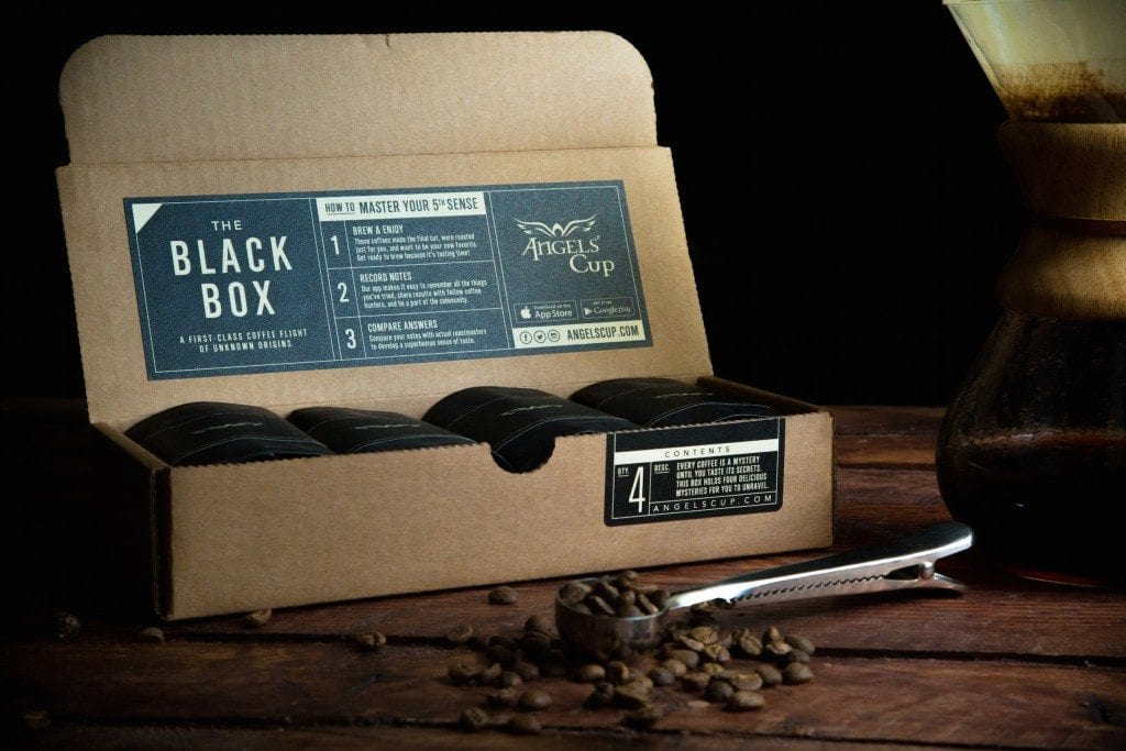Angles Cup Black Box Coffee Subscription