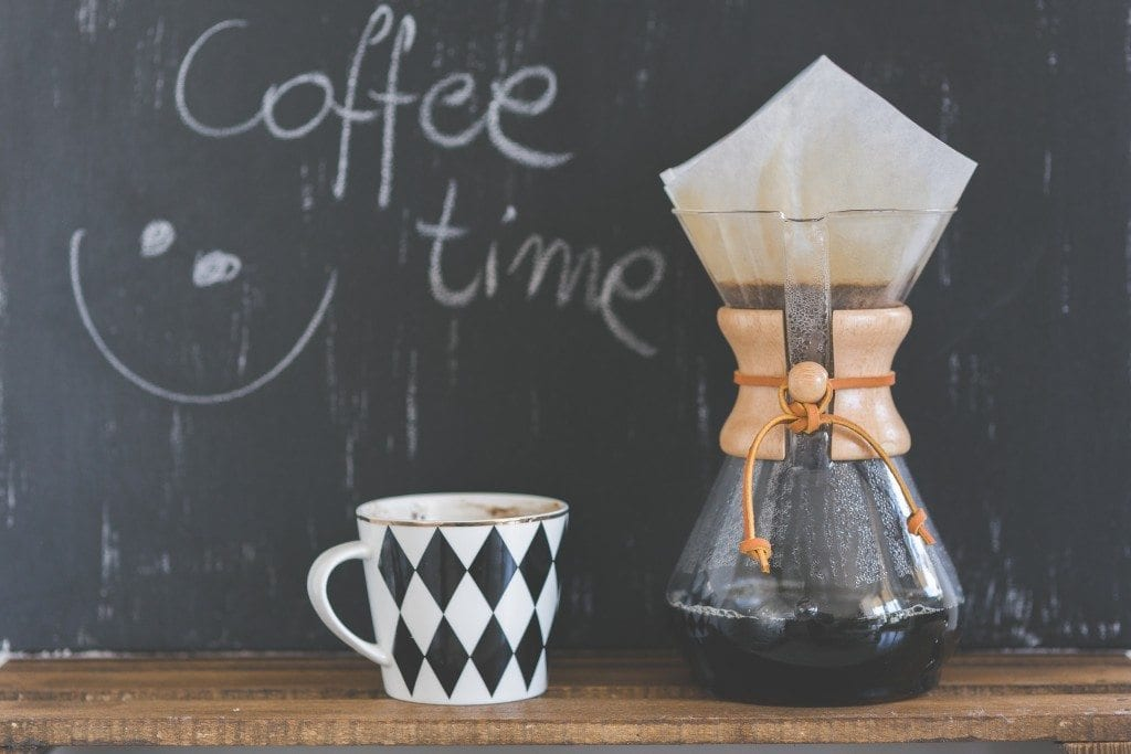 chemex and cup
