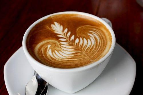 latte art rosetta