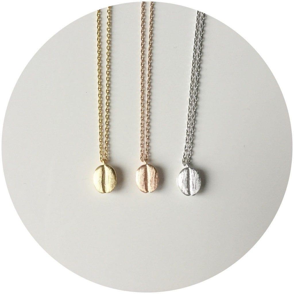 coffeebean necklace