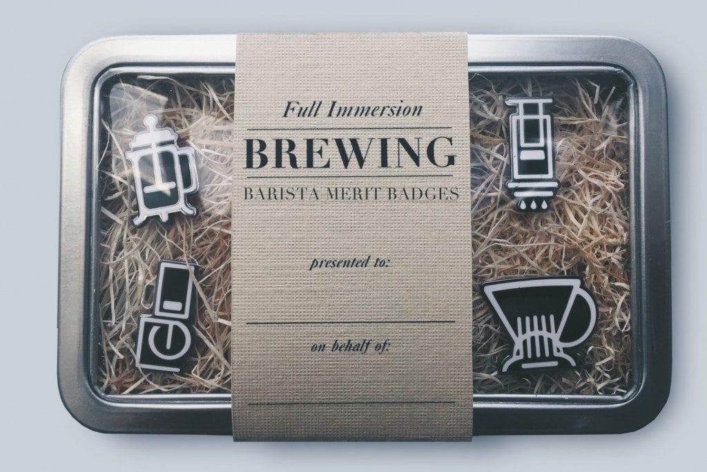 FULL IMMERSION BREWING - BARISTA MERIT BADGES
