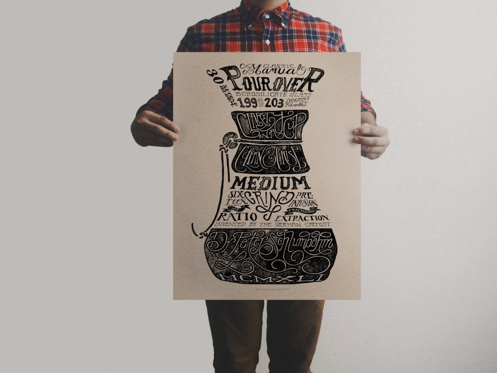 Department of Brewology - Pour Over Print