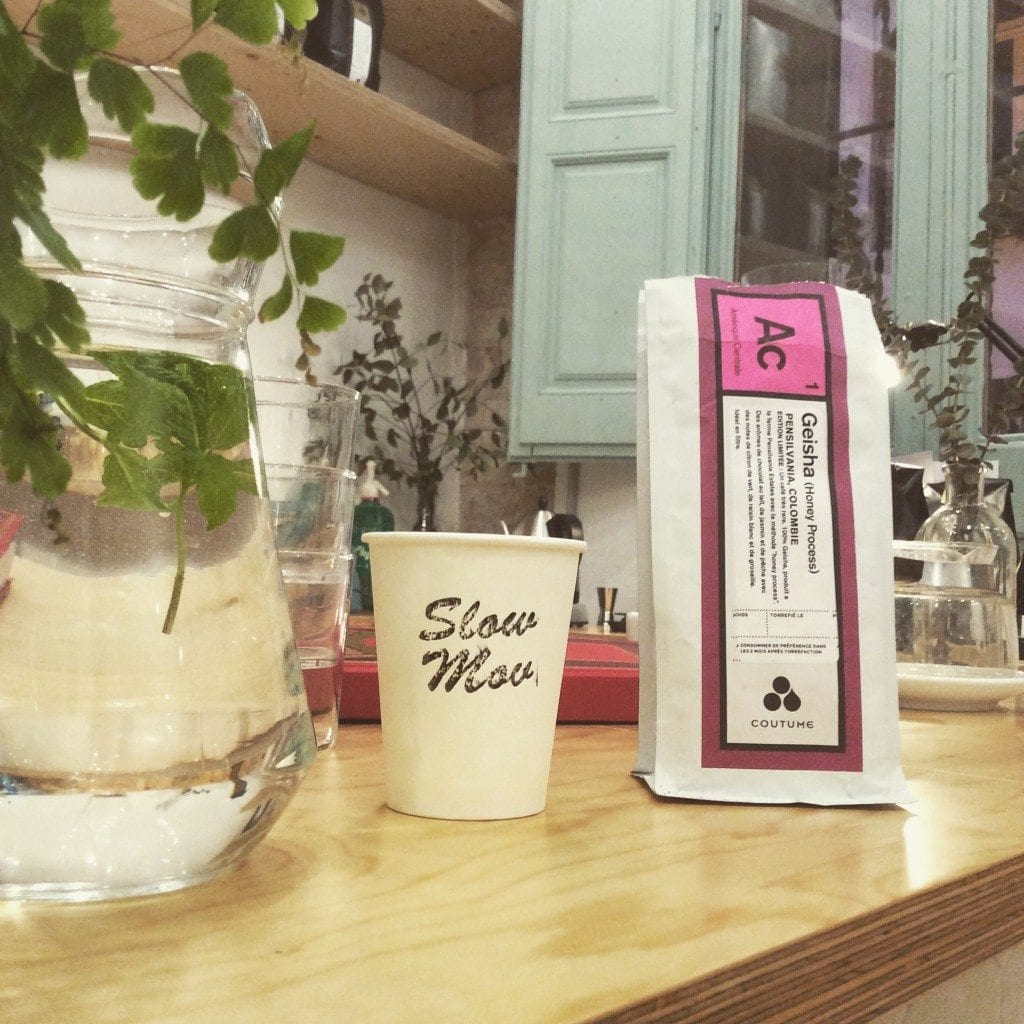 Slow Mov coffee