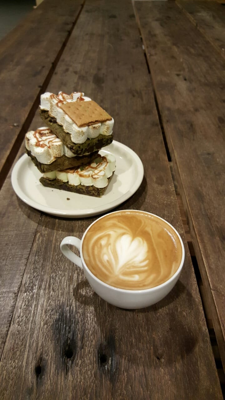 smores and a latte