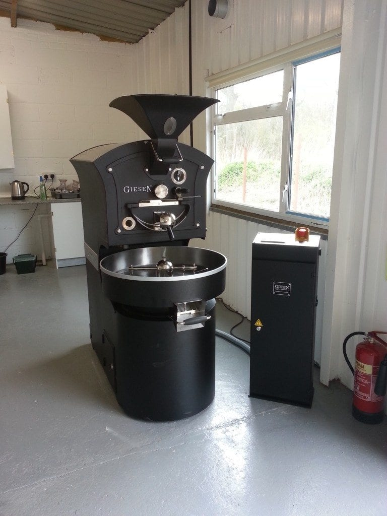 giesen coffee roaster