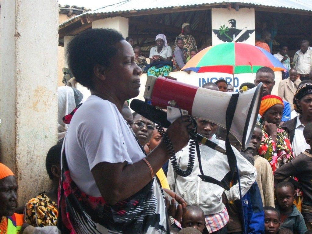 IWCA Burundi community in Kayanza