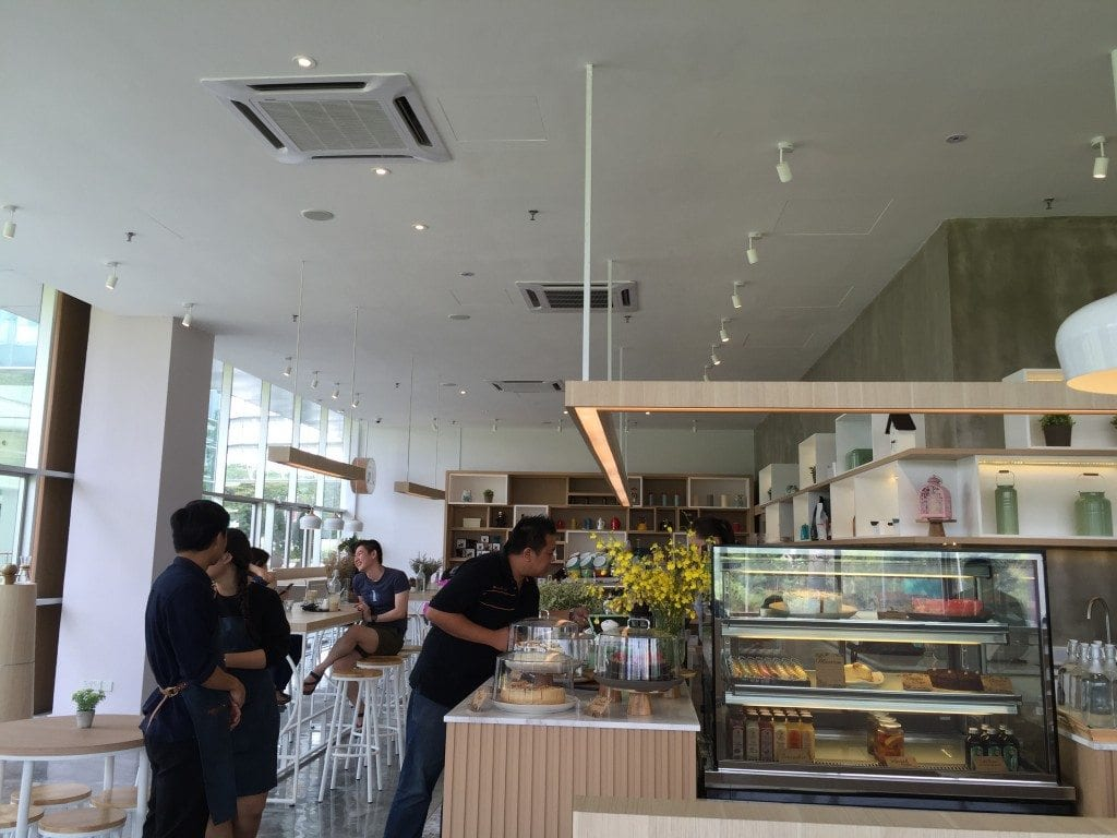 New Chapter coffee shop in Kuala Lumpur