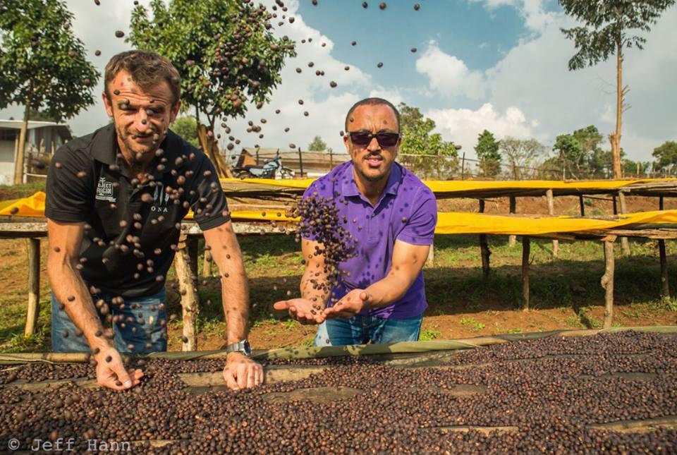 Sasa Sestic and Jeff Hann in Ethiopia