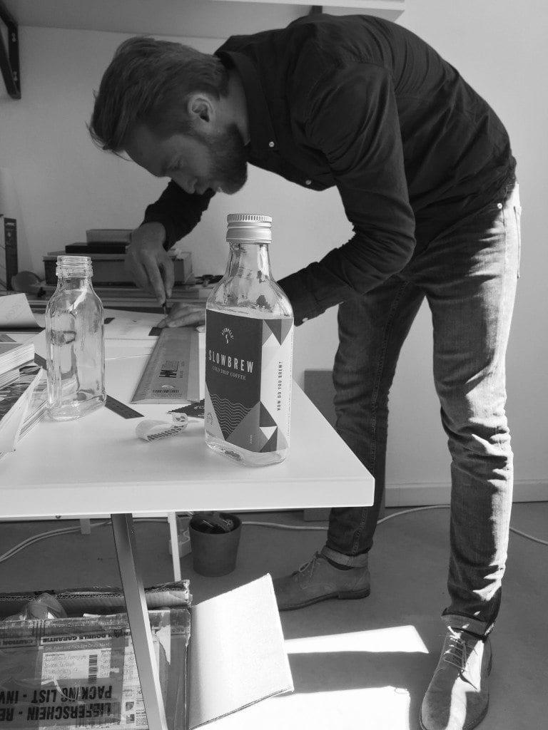 Stempels Slowbrew being bottled