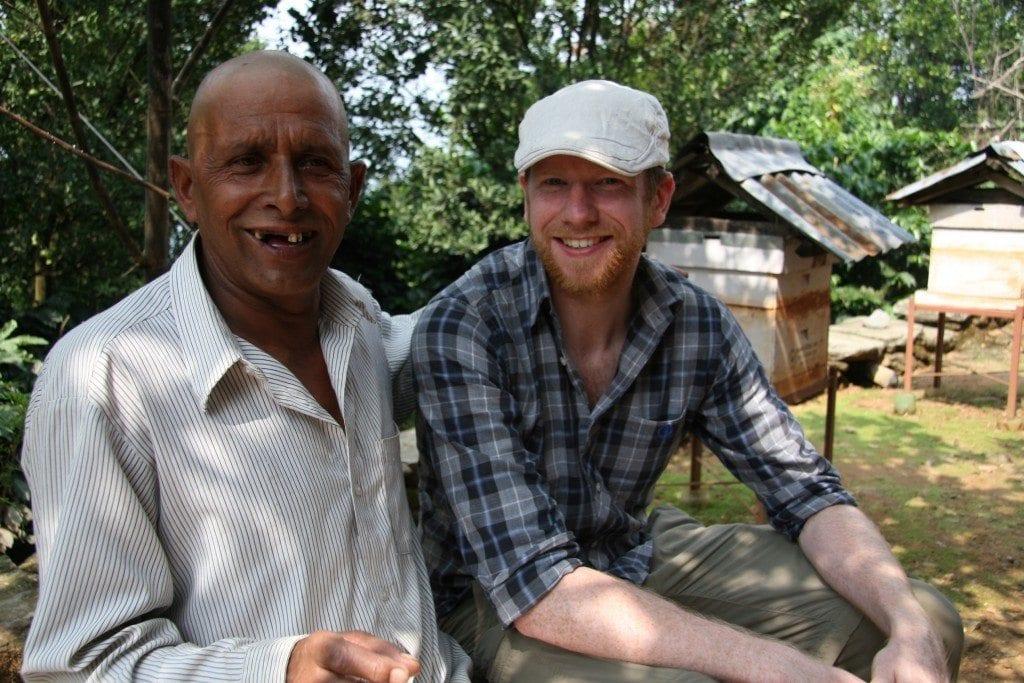 nepalese coffee farmer