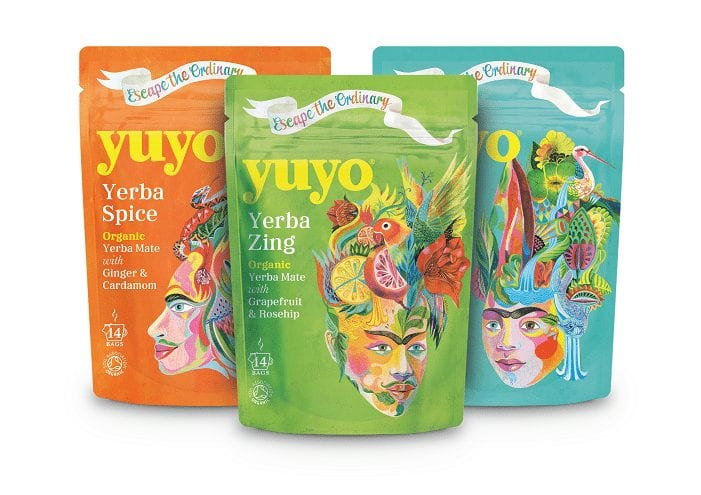 Yuyo mate packaging