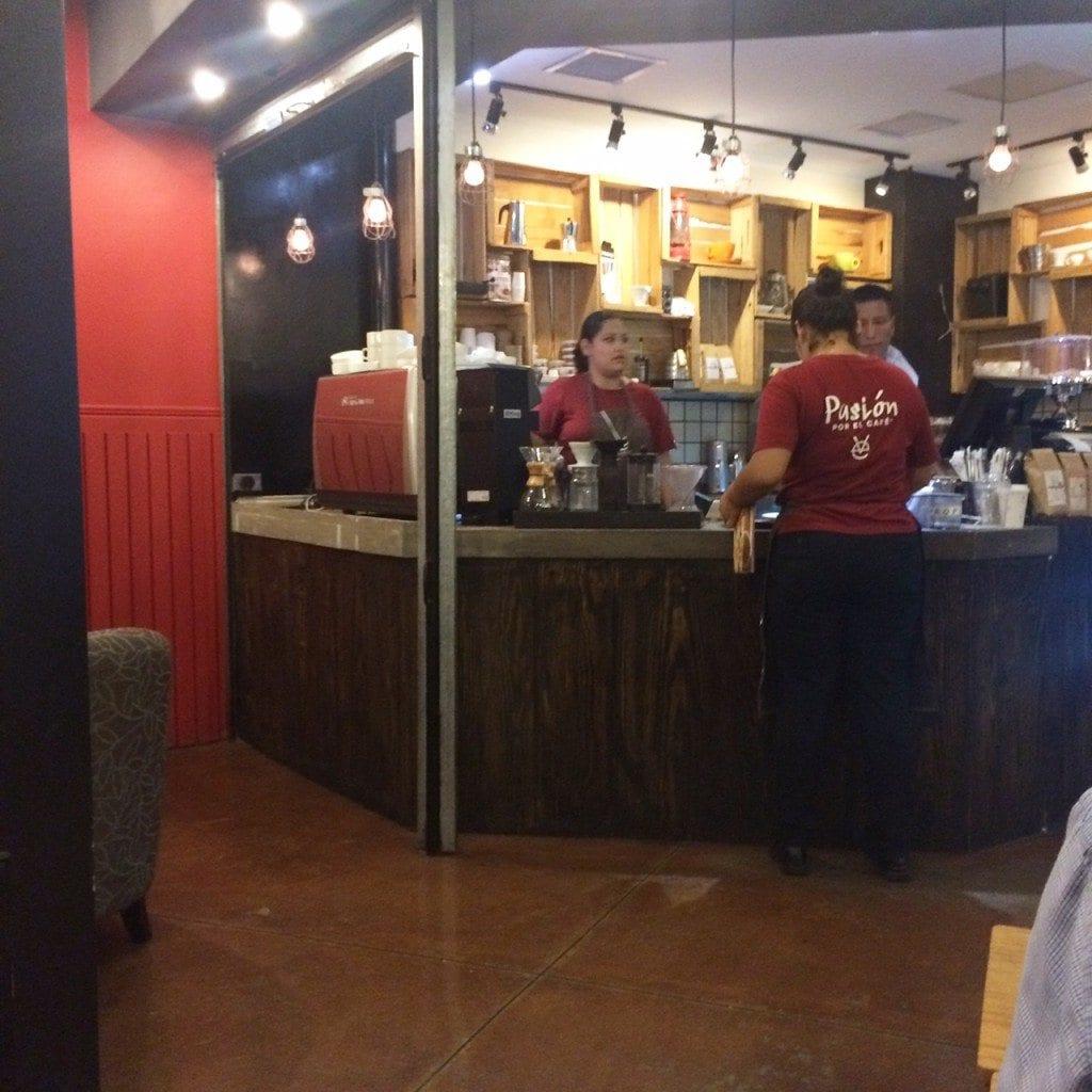 Viva Espresso coffee shop san salvador