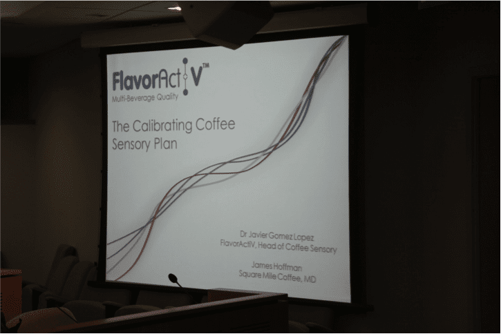 Flavor activ calibrating coffee experience