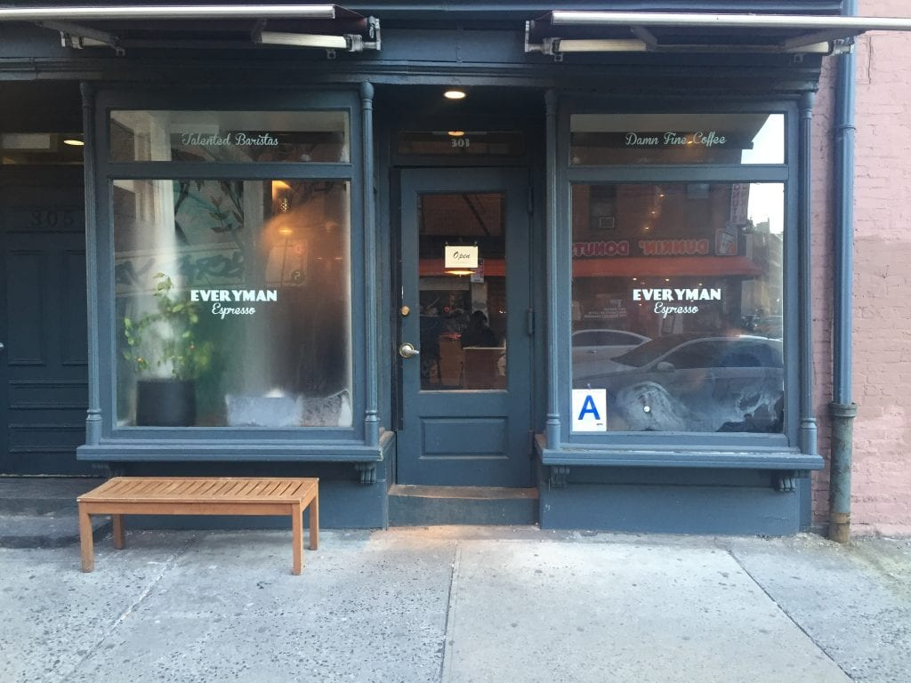 everyman coffee shop
