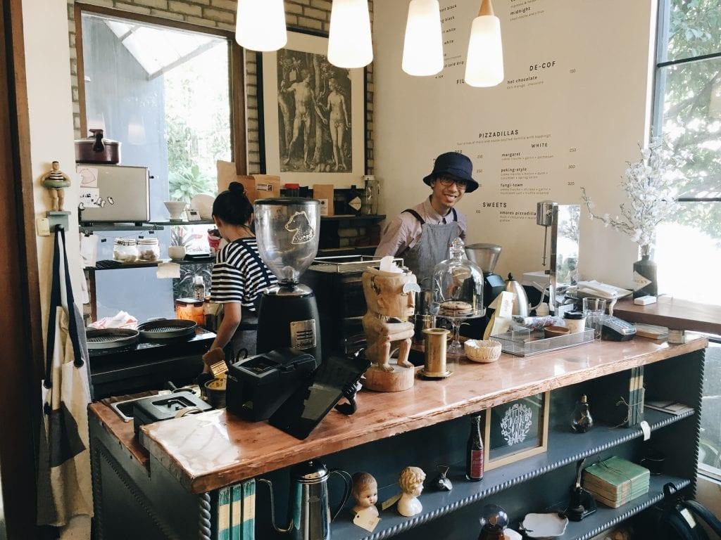Restock Coffee & Curiosities coffee shop