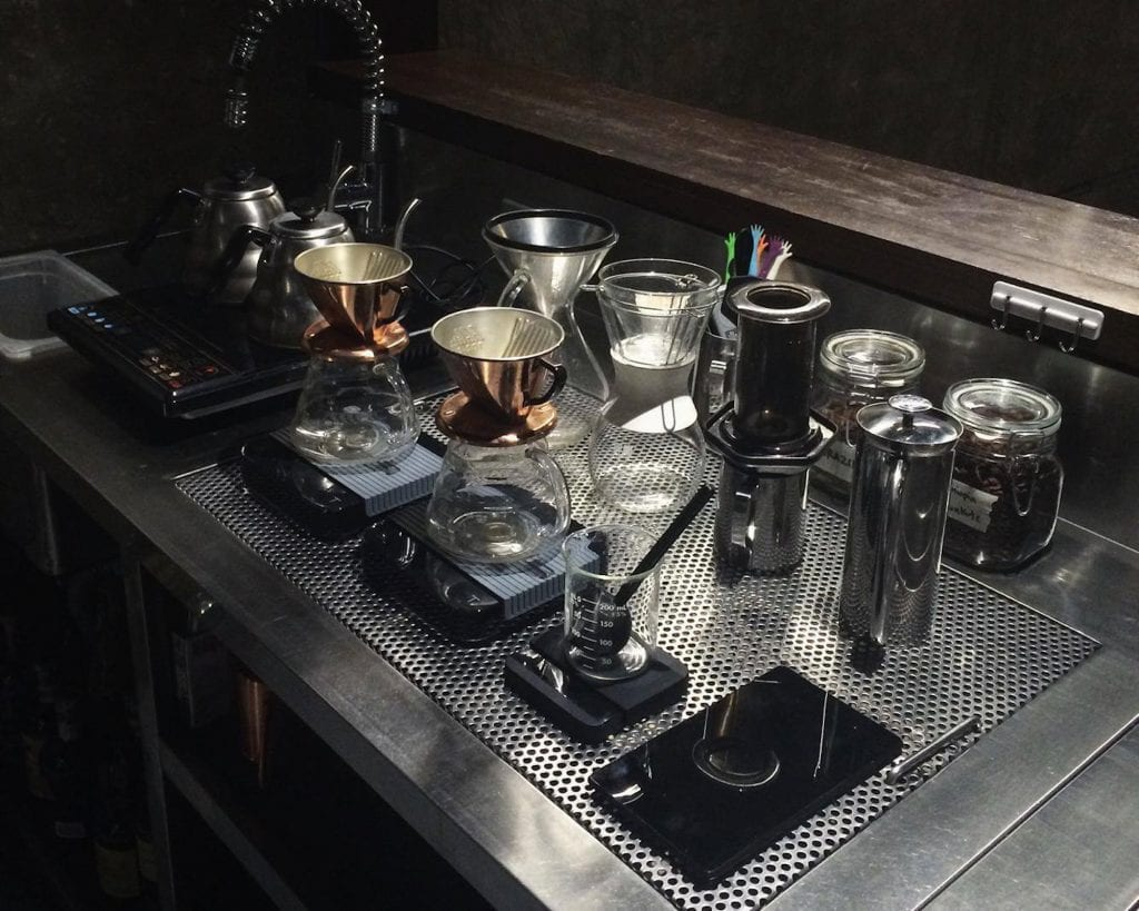 brew bar at The Curator