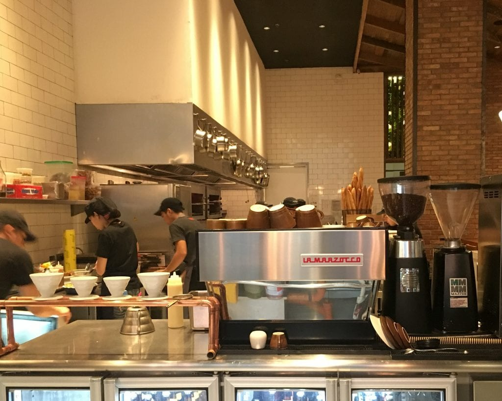 Lamarzocco at Wildflour cafe and bakery