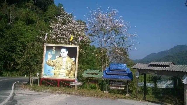 road to Doi Saket, Thailand