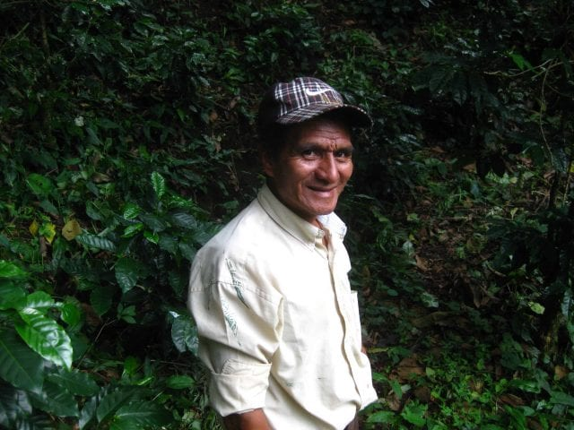 coffee worker in El Salvador